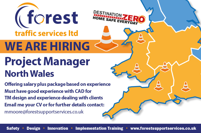 Vacancy - traffic management - project manager