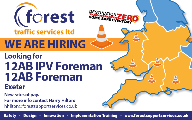 Forest-we are hiring - Exeter - Foreman